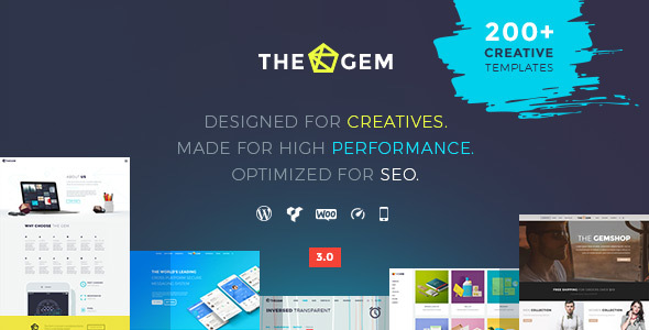 Thegem wordpress