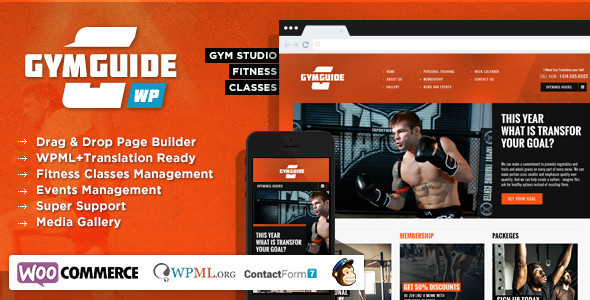 Gymguide Theme Review